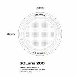 Growking Grow LED SOLaris 200 Watt