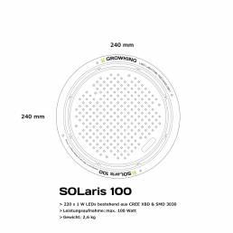 Growking Grow LED SOLaris 100 Watt
